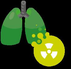 radon-polmoni